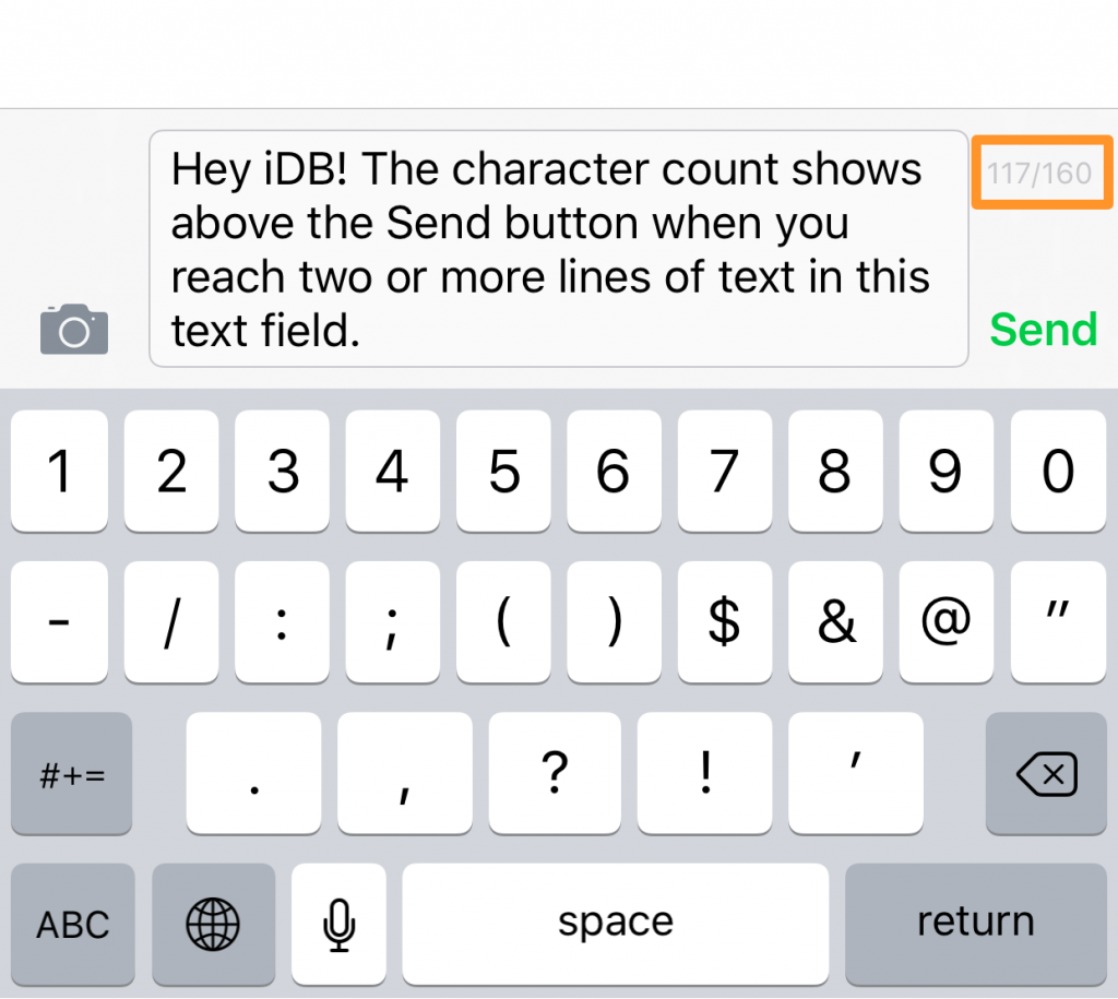Character-Count-in-iOS-Messages-app
