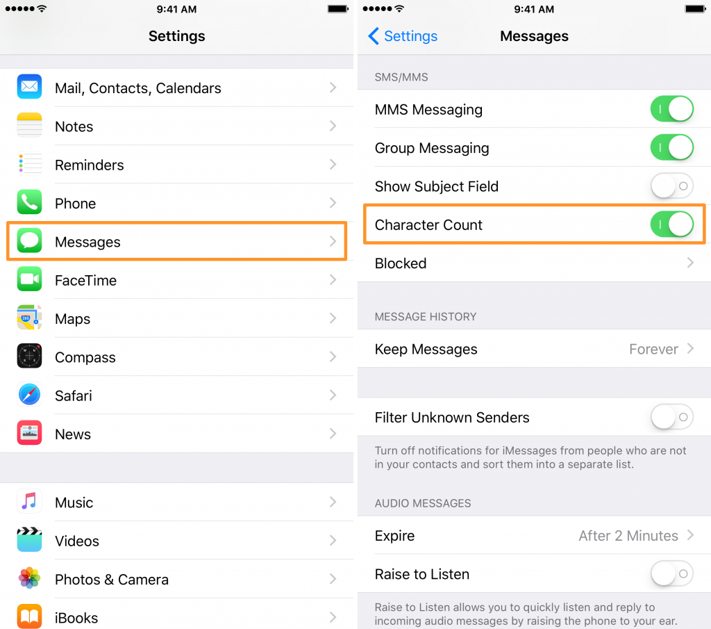 Enable-Character-Count-on-iPhone-Messages-App-Steps