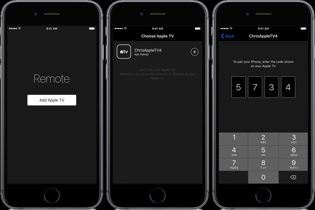 iOS-10-Apple-Remote-app-Pair-space-gray-iPhone-screenshot-002